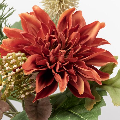 SMYCKA - 人造花, 室內/戶外用/菊花 橙色 | IKEA 香港及澳門 - PE818885_S4