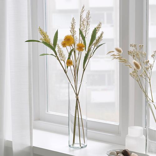 SMYCKA - 人造花, 室內/戶外用 黃色 | IKEA 香港及澳門 - PE818892_S4