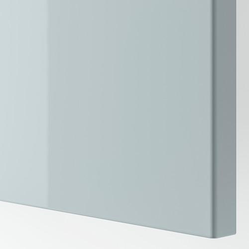 BESTÅ - TV bench with doors, white Selsviken/Stubbarp/light grey-blue | IKEA Hong Kong and Macau - PE818899_S4