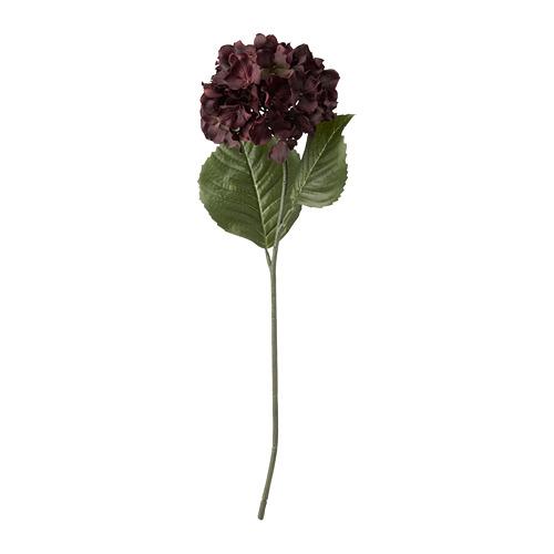 SMYCKA - 人造花, 室內/戶外用/繡球花 深紅色 | IKEA 香港及澳門 - PE818900_S4