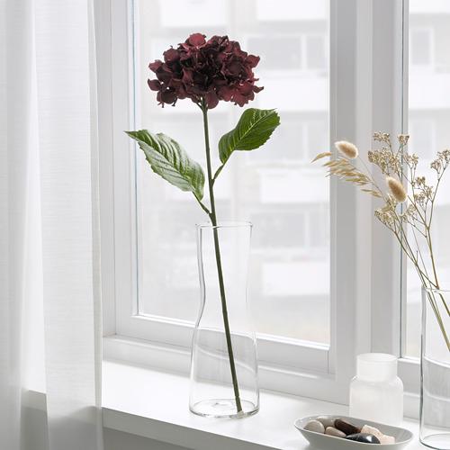 SMYCKA - 人造花, 室內/戶外用/繡球花 深紅色 | IKEA 香港及澳門 - PE818902_S4