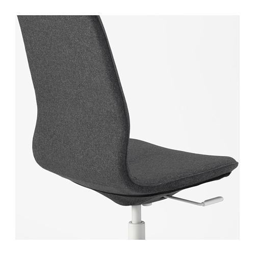 LÅNGFJÄLL - conference chair, Gunnared dark grey/white | IKEA Hong Kong and Macau - PE673921_S4