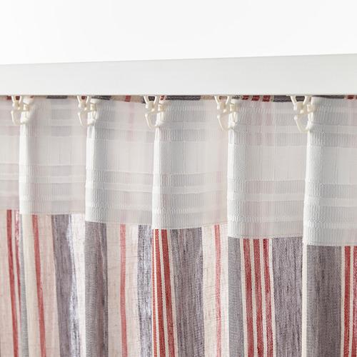 BERGSKRABBA 窗簾,一對