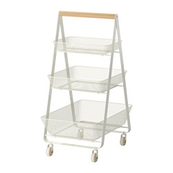 RISATORP - trolley, white | IKEA Hong Kong and Macau - PE426432_S3