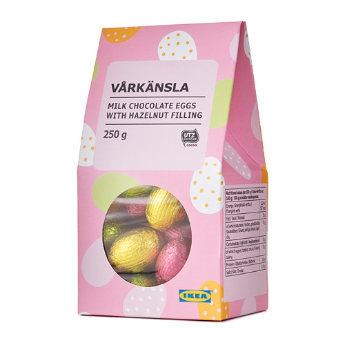 VÅRKÄNSLA - 牛奶朱古力蛋, 榛子餡及曲奇碎/獲UTZ認證 | IKEA 香港及澳門 - PE723377_S4