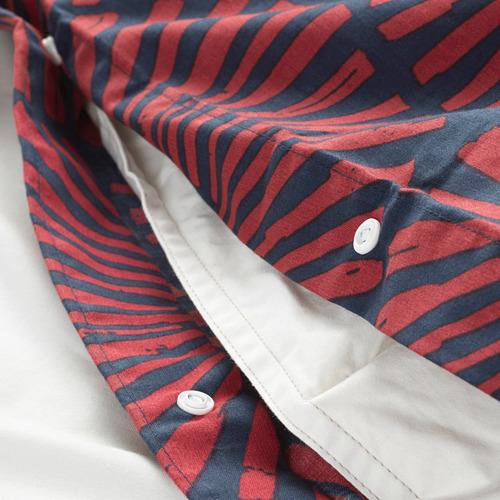 STJÄRNTULPAN 加特大雙人被套枕袋套裝