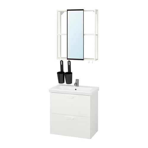 TVÄLLEN/ENHET - 浴室貯物組合 13件裝, white/Pilkån tap   IKEA 香港及澳門 - PE819151_S4