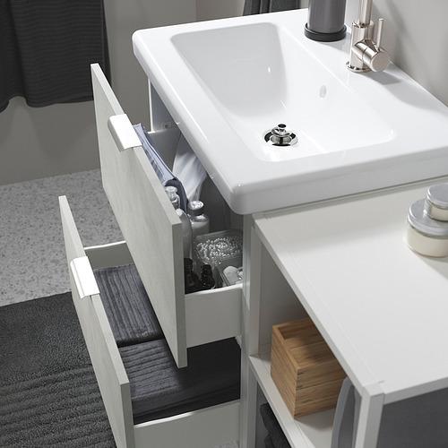 TVÄLLEN/ENHET - 浴室貯物組合 15件裝, concrete effect/white Glypen tap   IKEA 香港及澳門 - PE819155_S4