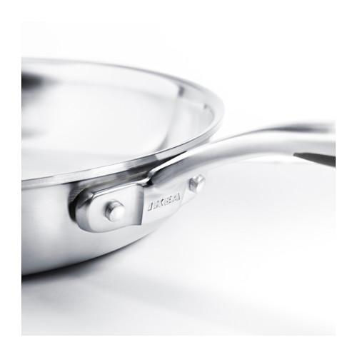 SENSUELL - 平底鑊 24厘米, 不銹鋼/灰色 | IKEA 香港及澳門 - PE559470_S4