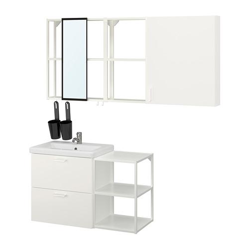 TVÄLLEN/ENHET - 浴室貯物組合 18件裝, white/Pilkån tap   IKEA 香港及澳門 - PE819170_S4