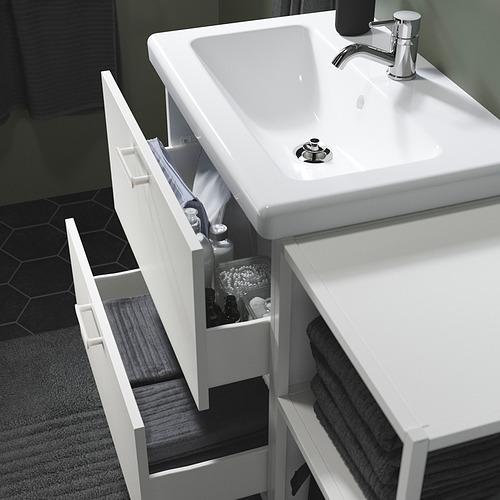 TVÄLLEN/ENHET - 浴室貯物組合 18件裝, white/Pilkån tap   IKEA 香港及澳門 - PE819131_S4