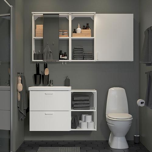TVÄLLEN/ENHET - 浴室貯物組合 18件裝, white/Pilkån tap   IKEA 香港及澳門 - PE819226_S4