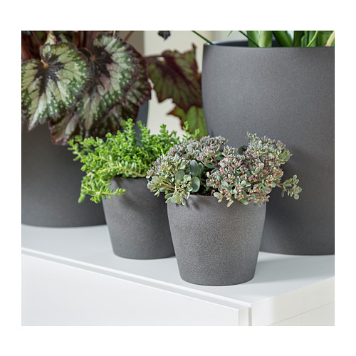 PERSILLADE - plant pot, dark grey | IKEA Hong Kong and Macau - PE723548_S4