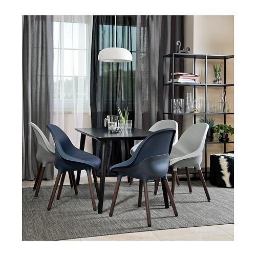 BALTSAR - 椅子, 藍黑色/褐色   IKEA 香港及澳門 - PE723565_S4