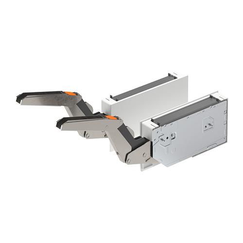 UTRUSTA - hinge w push-opener f horizontal dr, white   IKEA Hong Kong and Macau - PE764408_S4