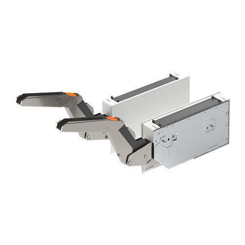 UTRUSTA - hinge w damper for horizontal door, white   IKEA Hong Kong and Macau - PE764416_S4