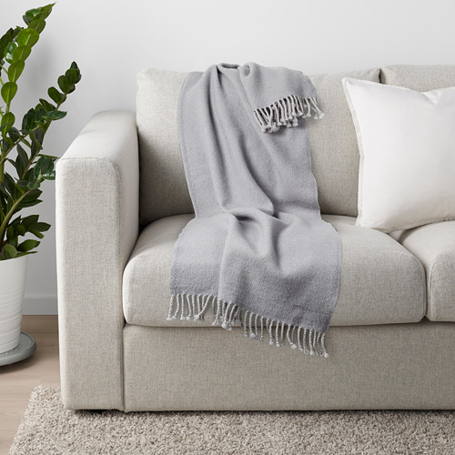 OMTÄNKSAM - 輕便暖氈, 淺灰色 | IKEA 香港及澳門 - PE686478_S4