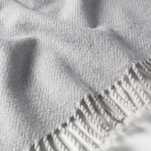 OMTÄNKSAM - 輕便暖氈, 淺灰色 | IKEA 香港及澳門 - PE686485_S4