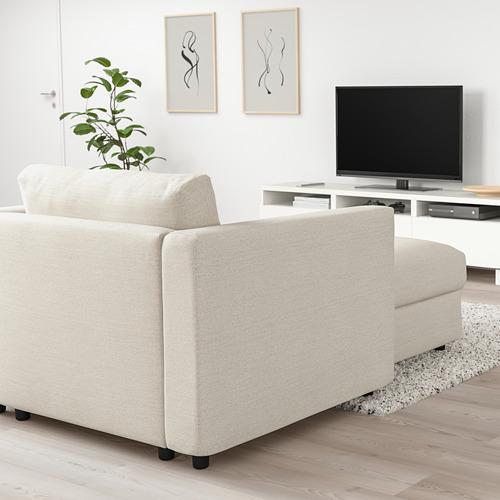VIMLE - chaise longue, Gunnared beige   IKEA Hong Kong and Macau - PE723584_S4