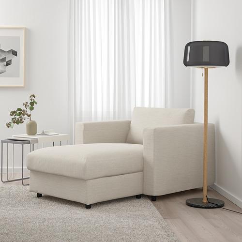 VIMLE - chaise longue, Gunnared beige   IKEA Hong Kong and Macau - PE723585_S4