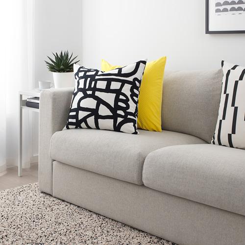 SKUGGBRÄCKA - fabric, white/black | IKEA Hong Kong and Macau - PE723635_S4