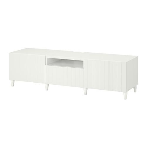 BESTÅ - 電視几, 白色/Sutterviken/Kabbarp 白色 | IKEA 香港及澳門 - PE782236_S4