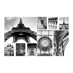 GRÖNBY - picture, set of 9, A day in Paris | IKEA Hong Kong and Macau - PE782245_S3