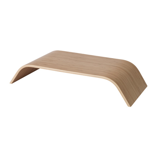 SIGFINN - monitor stand, fixed height, bamboo veneer | IKEA Hong Kong and Macau - PE625002_S4