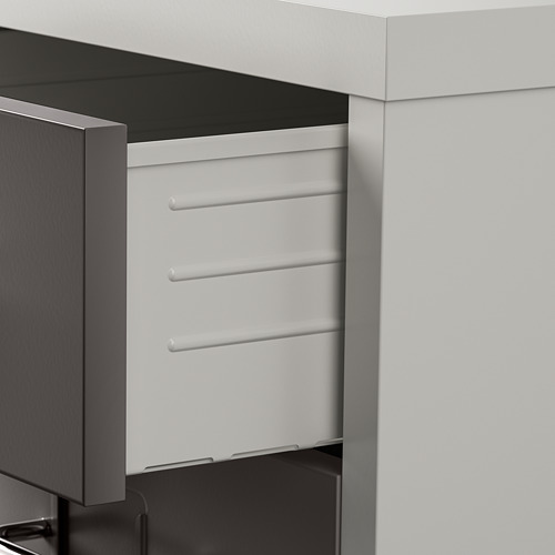 HELMER - 活動抽屜組合, 28x44x69cm, 深灰色/淺灰色   IKEA 香港及澳門 - PE819380_S4