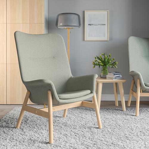 VEDBO - high-back armchair, Gunnared light green | IKEA Hong Kong and Macau - PE819462_S4
