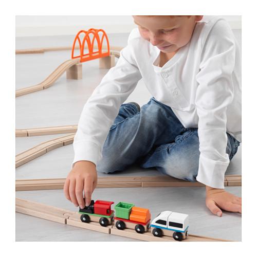 LILLABO - 火車玩具組合, 3件套裝 | IKEA 香港及澳門 - PE625228_S4