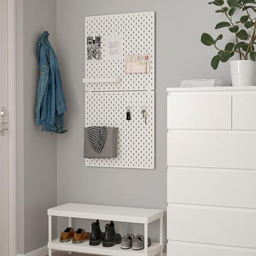 SKÅDIS - SKÅDIS洞洞板連接配件, 白色   IKEA 香港及澳門 - PE819491_S4