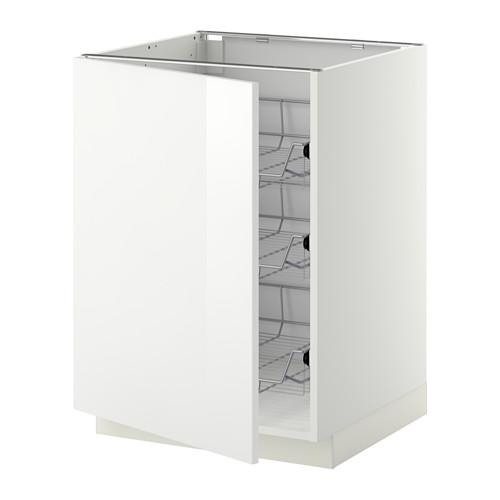 METOD - 地櫃連網籃, 白色/Ringhult 白色 | IKEA 香港及澳門 - PE345077_S4