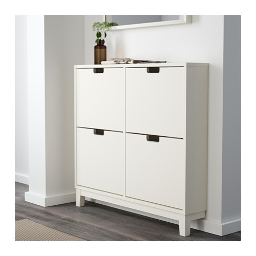 STÄLL - shoe cabinet with 4 compartments, white | IKEA Hong Kong and Macau - PE559934_S4