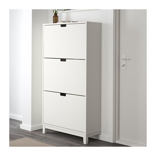 STÄLL - shoe cabinet with 3 compartments, white   IKEA Hong Kong and Macau - PE559936_S4