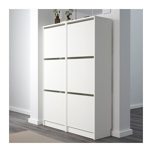 BISSA - 三格鞋櫃, 白色 | IKEA 香港及澳門 - PE559941_S4