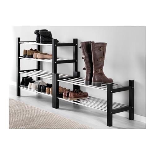 TJUSIG - shoe rack, black   IKEA Hong Kong and Macau - PE559948_S4