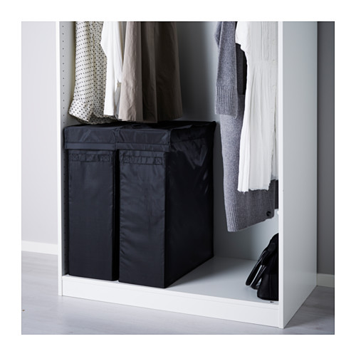 SKUBB - laundry bag with stand, black | IKEA Hong Kong and Macau - PE559973_S4