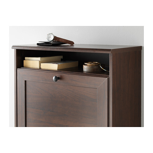BRUSALI - shoe cabinet with 3 compartments, brown   IKEA Hong Kong and Macau - PE560006_S4