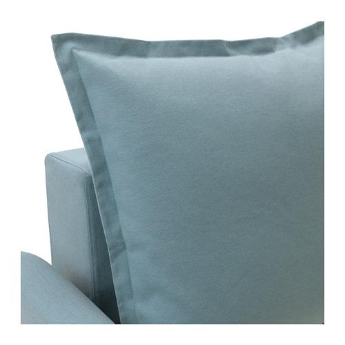 HOLMSUND - three-seat sofa-bed with storage, Orrsta light blue | IKEA Hong Kong and Macau - PE674345_S4