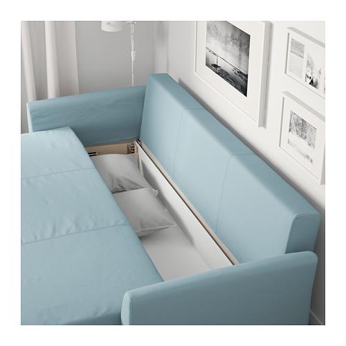 HOLMSUND - 三座位梳化床(可貯物), Orrsta 淺藍色 | IKEA 香港及澳門 - PE674344_S4