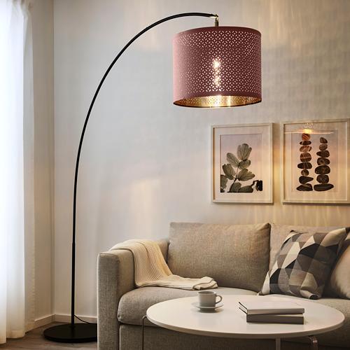 SKAFTET - 落地燈座 拱形, 黑色   IKEA 香港及澳門 - PE764678_S4