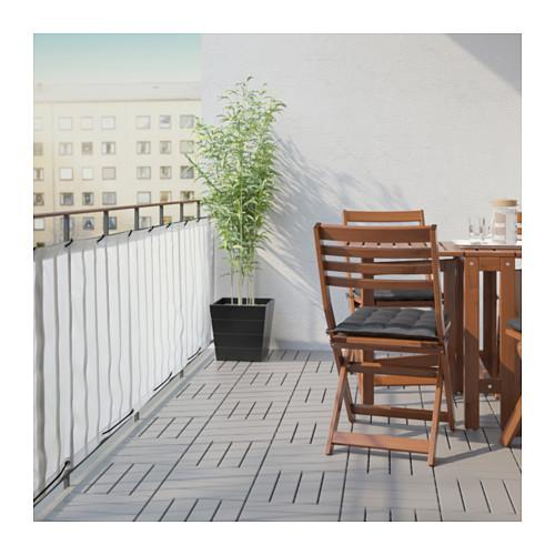 DYNING - 露台屏風, 白色 | IKEA 香港及澳門 - PE625544_S4