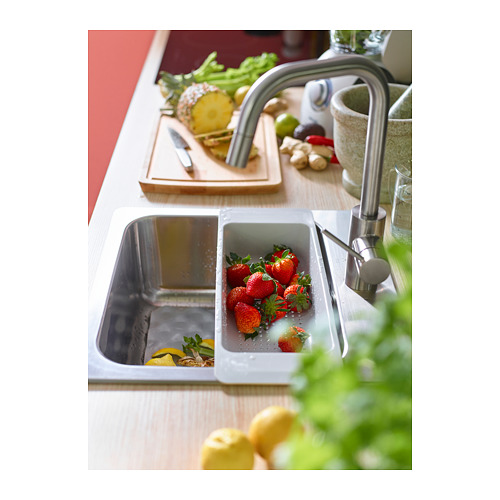 ÄLMAREN - kitchen mixer tap w pull-out spout, stainless steel colour | IKEA Hong Kong and Macau - PH145171_S4