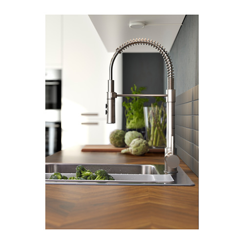 VIMMERN - 廚房用水龍頭/花灑, 不銹鋼色 | IKEA 香港及澳門 - PH135696_S4