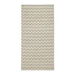 BREDEVAD - 平織地氈, 鋸齒紋 米黃色 | IKEA 香港及澳門 - PE764688_S3