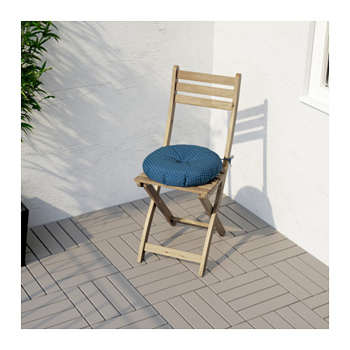 ASKHOLMEN - chair, outdoor, foldable light brown stained | IKEA Hong Kong and Macau - PE625687_S4
