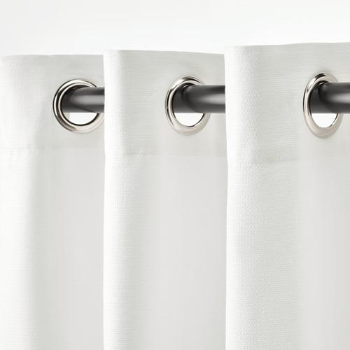 MOALINA - 窗簾,一對, 白色   IKEA 香港及澳門 - PE820040_S4