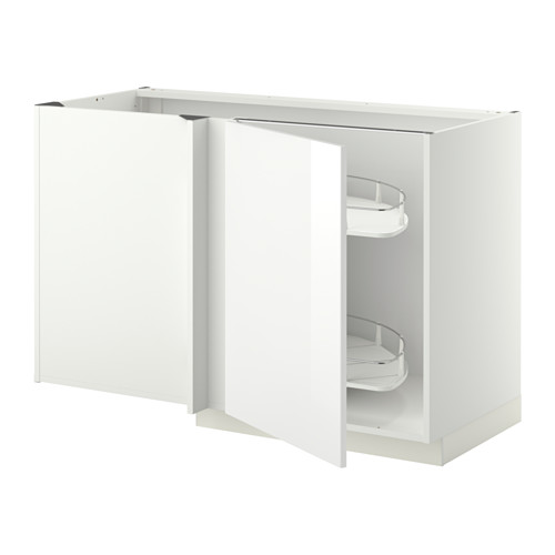 METOD - corner base cab w pull-out fitting, white/Ringhult white | IKEA Hong Kong and Macau - PE345384_S4