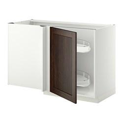 METOD - 角位地櫃連拉出式配件, white/Edserum brown   IKEA 香港及澳門 - PE345389_S3
